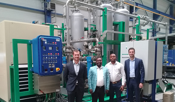 Fairtex & Amazon Energy Witnessing FAT Test At Airpack Facility For Kwale Gas Flare Project