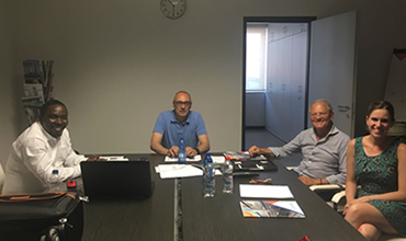Meeting Between Fairtex, Ecosystem & Duna-Corredinl for a Polyurethane Solution for FSO unity, Total