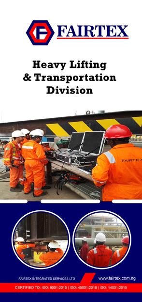 Heavy Lifting & Transportation Division Brochure