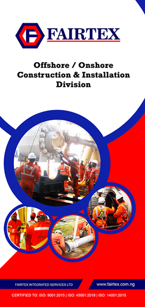 Fairtex Offshore / Onshore Construction and Installation Division Brochure