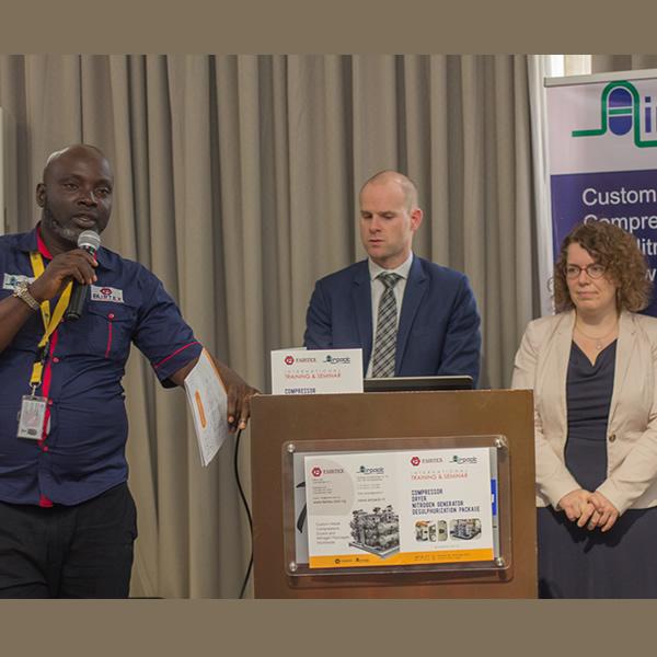 Fairtex / Airpack International Training & Seminar Held At Radisson Blu Anchorage Hotel, Lekki - Lagos Logo