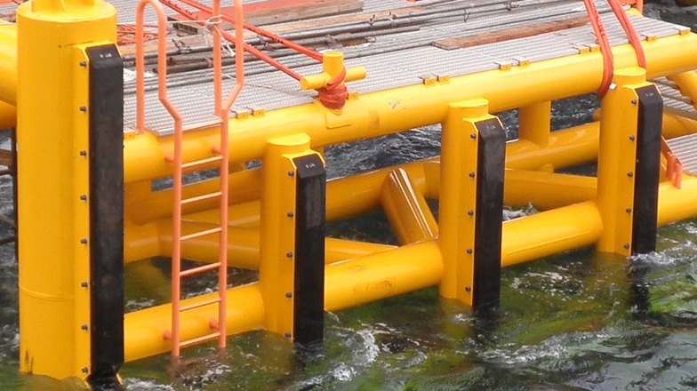 Offshore Platform protection system & Marine Equipment_<br />Boat Landing And Fendering System