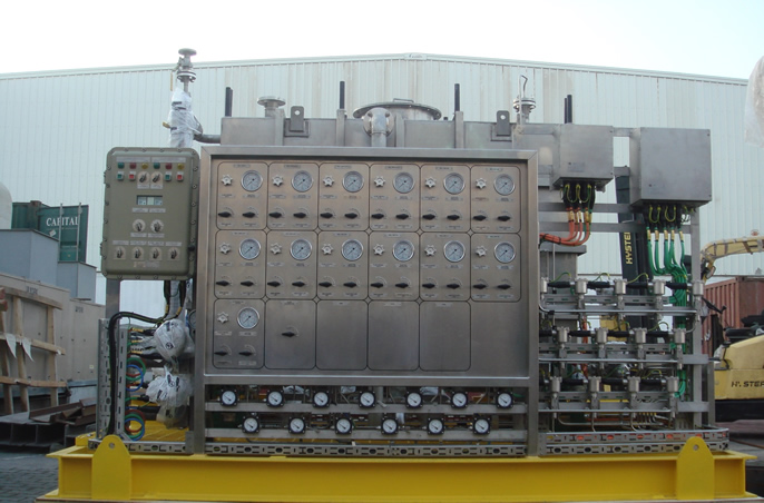 Chemical Injection Skid