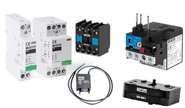 ComatReleco relays and contactors