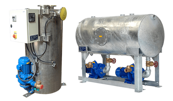 Amarinth Pumps_Condensate Recovery Units