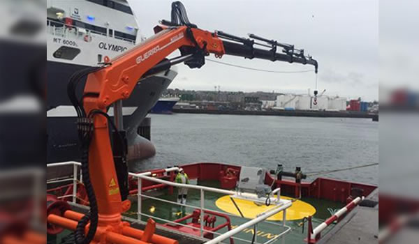 Marine / Offshore Cranes_<br />Foldable Knuckle Boom Cranes