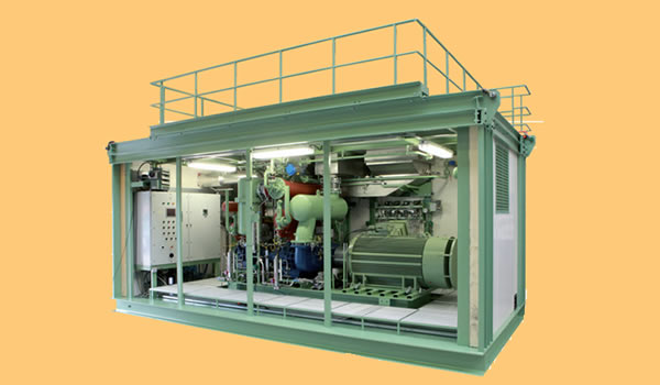 Airpack Compressor, Nitrogen generation & Dryer Packages_Oil Free Screw Compressors