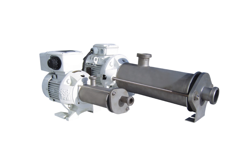 Artificial Lift System & Fluid Handling Pump_PCM Compact Small Food Grade Progressive Cavity Pump