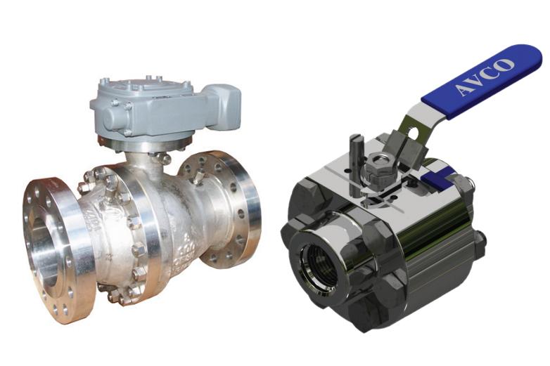 Valves, Actuators & Flow Measuring Devices_TRUNNION BALL VALVES