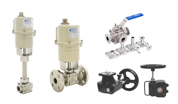 Valves & Actuators_<br />Avco Valves, Actuators &amp; Flow Measuring Devices