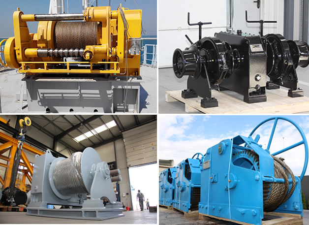 Deck Handling Equipment_Winches