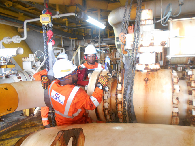 OML99 - Repair Of Corroded Akpo Gas Export Line