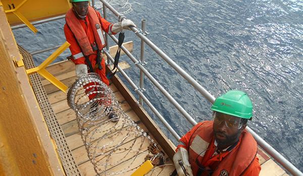OML 102 OFDI & OFDI Replacement Of Damaged Barbed Wire