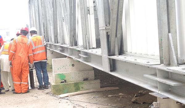 Weighing Lekki Pedestrian Bridges