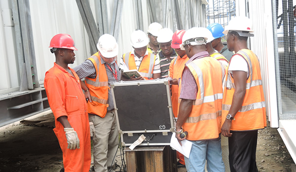 Weighing Lekki Pedestrian Bridges