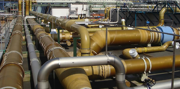 Construction & Installation Of Glass Reinforcement Epoxy & Pipes