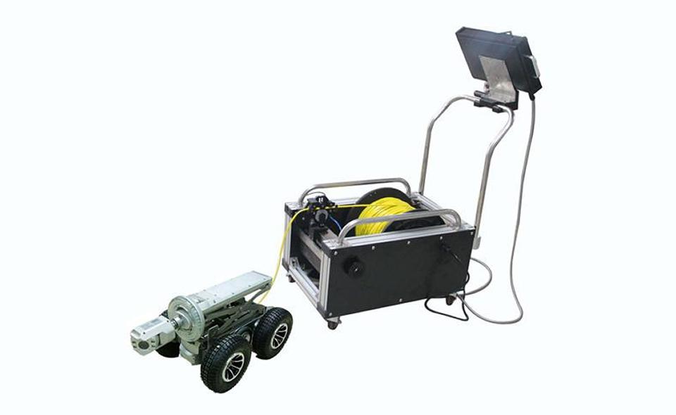 Industry crawler robot with Pan/ Tilt camera