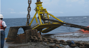 Mooring Chain Installation, Re-certification and Testing Services